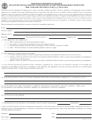 Form Rv-f1303201 - Application For Qualified Pollution Control Or Certified Green Energy Production
