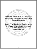 Form 4572 - Electronic Filing Trading Partner Agreement (tpa)