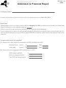 Form Rp-6.5 - Addendum To Financial Report