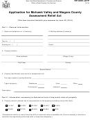 Form Rp-6361-app - Application For Mohawk Valley And Niagara County Assessment Relief Act