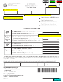Form Rv-012 - Wisconsin Rental Vehicle Fee Return
