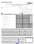 Form Boe-517-pg - Declaration Of Costs And Other Related Property Information - 2013