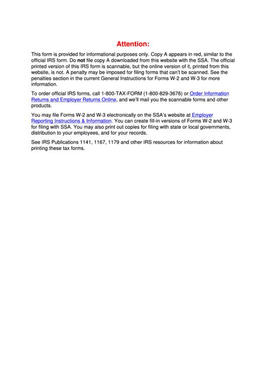 Form W-2vi - U.s. Virgin Islands Wage And Tax Statement - 2012 Printable pdf