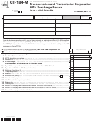 Form Ct-184-m - Transportation And Transmission Corporation Mta Surcharge Return - 2013