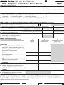 California Form 3805d - Net Operating Loss (nol) Carryover Computation And Limitation - Pierce's Disease - 2012