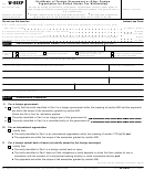 Form W-8exp - Certificate Of Foreign Government Or Other Foreign Organization For United States Tax Withholding - 2006