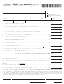 Form 500ec - Virginia Modified Net Income Tax Return For Electric Cooperatives - 2012