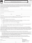 Form Dr-700020 - Notification Of Method Employed To Determine Taxing Jurisdiction (communications Services Tax)