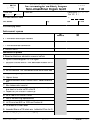 Form 8654 - Tax Counseling For The Elderly Program Semi-annual/annual Program Report