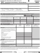 Form 3805d - California Net Operating Loss (nol) Carryover Computation And Limitation Pierce's Disease - 2014