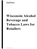 Wisconsin Alcohol Beverage And Tobacco Laws For Retailers