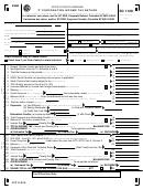 Form Sc 1120 - South Carolina 'c' Corporation Income Tax Return