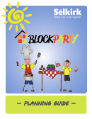 Block Party Planning Guide - City Of Selkirk