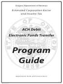Form 150-102-041-2 - Ach Debit Authorization Agreement And Application For Estimated Corporation Excise And Income Tax