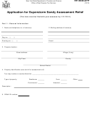 Form Rp-5849-app - Application For Superstorm Sandy Assessment Relief
