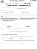 Form Rp-5849-bar - Superstorm Sandy Assessment Relief Act Complaint On Real Property Assessment