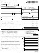 Form Bi-471 - Vermont Business Income Tax Return