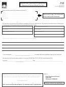 Form Dr-308 - Request And Certificate For Waiver And Release Of Florida Estate Tax Lien