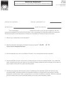 Form Dr-310 - Domicile Statement
