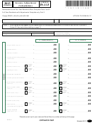 Schedule In-113 - Attach To Form In-111 - Vermont Income Adjustment Calculations - 2013