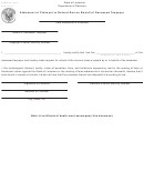 Form R-6642-pc - Statement Of Claimant To Refund Due On Behalf Of Deceased Taxpayer