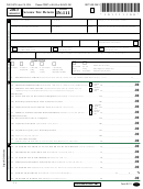 Form In-111 - Vermont Income Tax Return - 2013