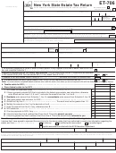 Form Et-706 - New York State Estate Tax Return