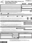 Form It-204-ll - Partnership, Limited Liability Company, And Limited Liability Partnership Filing Fee Payment Form - 2013