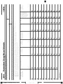 Schedule 1067a - California Nonresident Group Return Schedule - 2015