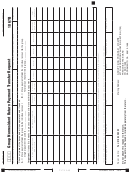 Schedule 1067b - California Group Nonresident Return Payment Transfer Request - 2014
