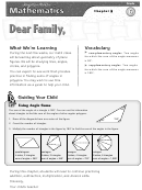 Letter To Family - Geometry Of Plane Figuers