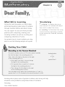 Letter To Family - Value Of Numbers Through Hundred Millions And Money