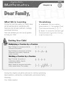Letter To Family - Operations With Fractions