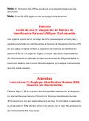 Formulario Ss-4pr - Solicitud De Numero De Identificacion Patronal (ein)