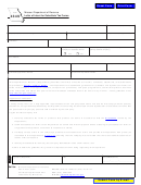 Form 4349 - Letter Of Intent For Substitute Tax Forms