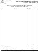Form 60-082 - Iowa Inheritance/estate Tax Schedule D Insurance On Decedent's Life