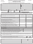 Form Rdc - Virginia Application For Research And Development Expenses Tax Credit