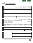 Form 4201 - Affidavit For Assignment Of Securities