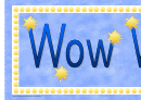 Wow Words Banner Template