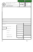 Form 4156 - Audit Receipt