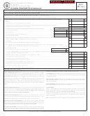 Form Int-2-1 - Bank Franchise Tax Schedule Bf - 2012