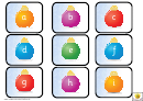 Mini Christmas Alphabet And Phonics Template