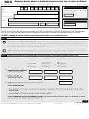 Form 945-x - Adjusted Annual Return Of Withheld Federal Income Tax Or Claim For Refund