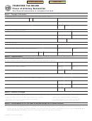 Form Ftb 3520 C1 - Ranchise Tax Board Power Of Attorney Declaration
