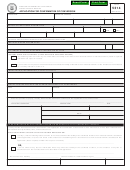 Form 5314 - Application For Confirmation Of Conversion