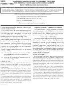 Form 770es - Virginia Estimated Income Tax Payment Vouchers - 2012
