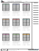 Function Machine - Determining Rule - Functions Worksheet With Answers