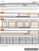 Schedule Ut (form It-140) - West Virginia Purchaser's Use Tax Schedule - 2013