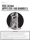 Form Dr 7064 - Fuel Distributors License Application
