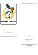 Employment Open House Invitation Template